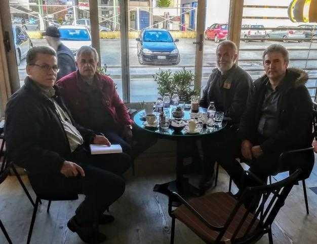 """Η """"ΠΑΡΑΧΩΡΗΣΗ"""" ΤΟΥ ΣΤΡΑΤΟΠΕΔΟΥ ΜΑΚΕΔΟΝΟΜΑΧΩΝ. Με το προεδρείο του Συλλόγου Πολιτικών Υπαλλήλων ΥΕΘΑ/ΓΕΣ Δυτ. Μακεδονίας συναντήθηκε ο επικεφαλής του συνδυασμού της ΕΝΟΤΗΤΑΣ Λ. Μαλούτας"""