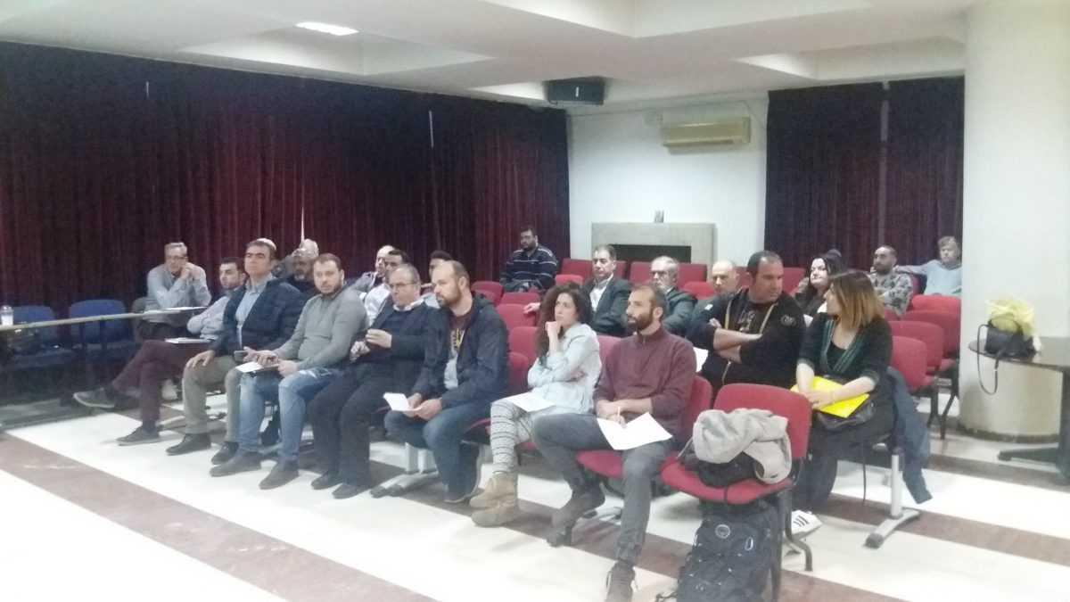 Αρκετοί εν δυνάμει επενδυτές στην ενημερωτική εκδήλωση για το LEADER από την Αναπτυξιακή Δυτικής Μακεδονίας Α.Ε. – ΑΝΚΟ και το Δήμο Εορδαίας
