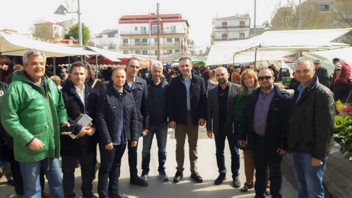 Την Πτολεμαΐδα επισκέφτηκε σήμερα ο υποψήφιος Περιφερειάρχης Δυτικής Μακεδονίας Γ. Κασαπίδης, συνοδευόμενος από υποψήφιους περιφερειακούς συμβούλους της Π.Ε. Κοζάνης.