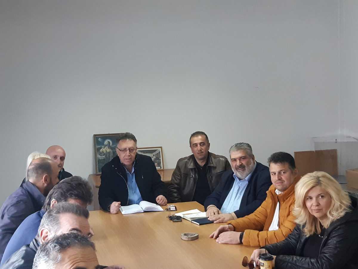 Συναντήσεις του υποψήφιου Δημάρχου Εορδαίας Παναγιώτη Πλακεντά με το Προεδρείο του Εργατικού Κέντρου Πτολεμαΐδας, με το Διοικητικό Συμβούλιο του Πολιτιστικού Συλλόγου Κομάνου και με τους εργαζόμενους στον Παιδικό Σταθμό της ΔΕΗ.