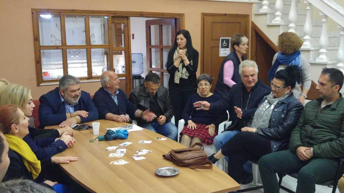Συνάντηση του υποψηφίου Δήμαρχου Παναγιώτη Πλακεντά με το Προεδρείο και μέλη του Συλλόγου Μικρασιατών Πτολεμαΐδας « Η Μικρά Ασία».