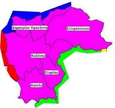 Αποτελέσματα ανά Δημοτική Ενότητα. 57,14% στην ΔΕ Κοζάνης ο Μαλούτας. 60,65% ο Ιωαννίδης στη ΔΕ Δ. Υψηλάντη