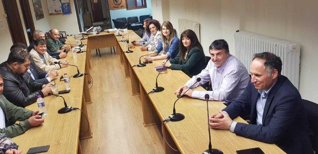 Στα γραφεία του ΣΠΑΡΤΑΚΟΥ ο υποψήφιος Δήμαρχος ΕορδαίαςΓ. Καραβασίλης«Η επόμενη ημέρα θα μας βρει όλους μαζί»
