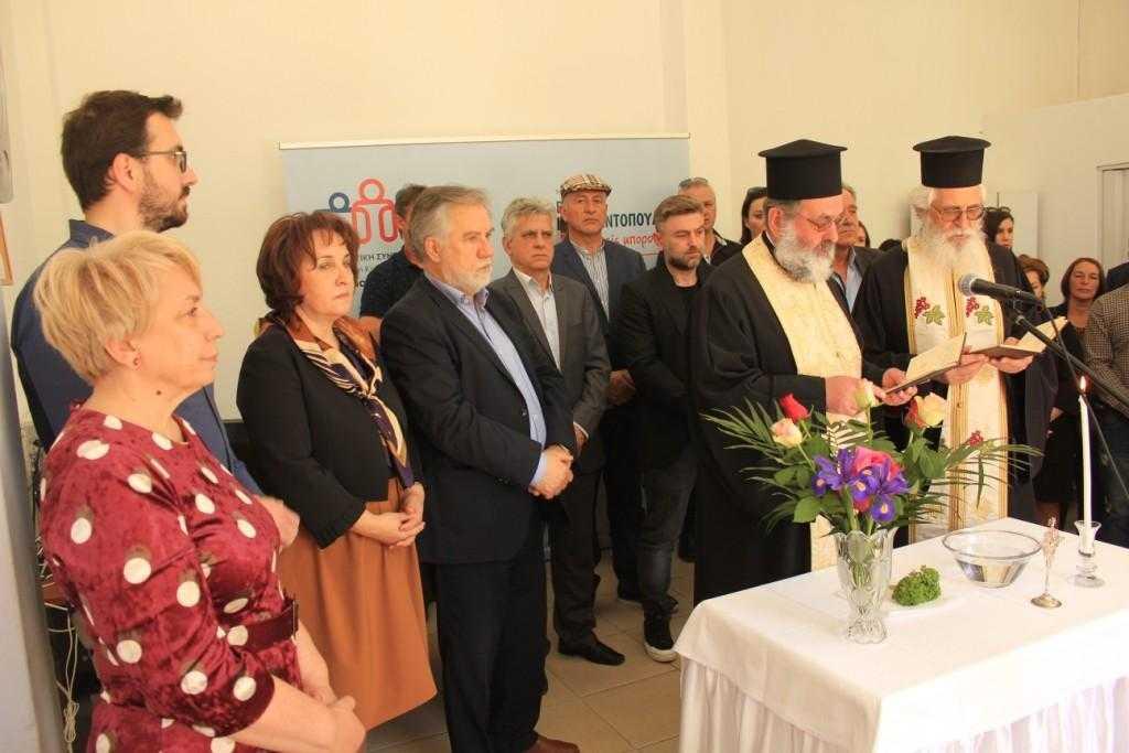 Πραγματοποιήθηκαν τα εγκαίνια του εκλογικού κέντρου της «Δημοτικής Συνεργασίας Δήμου Σερβίων» του Βασίλη Κωνσταντόπουλου στα Σέρβια