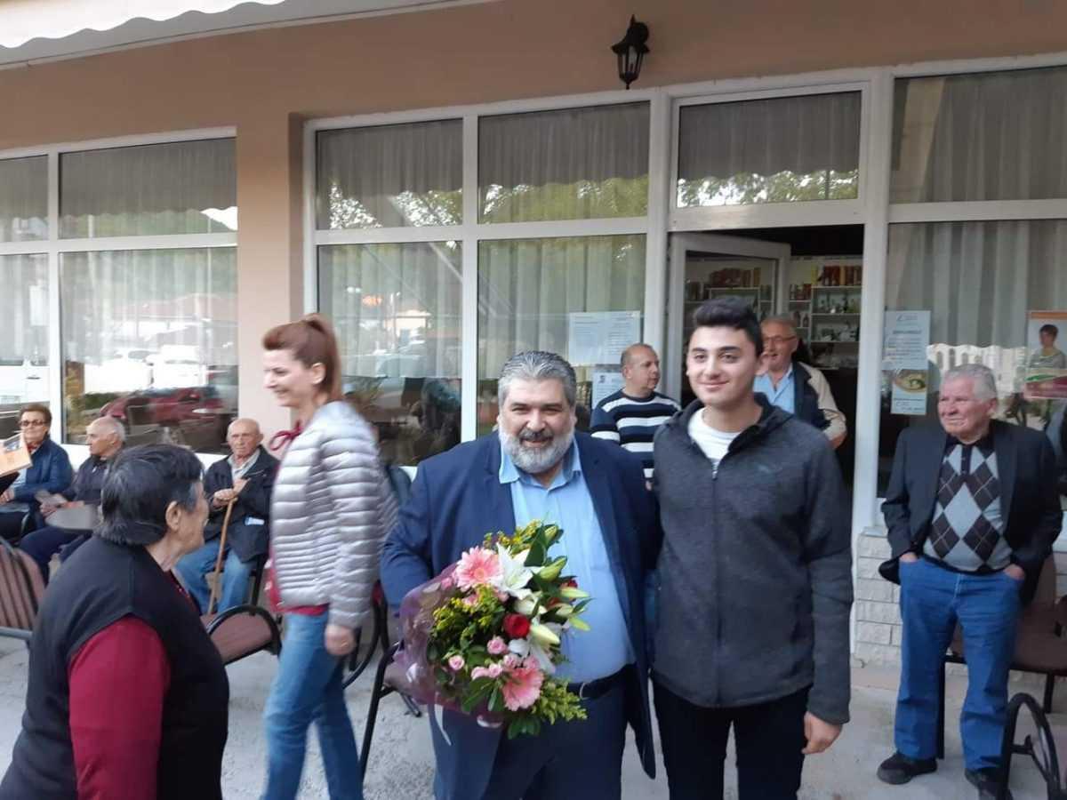 Περιοδεία του υποψήφιου δημάρχου Εορδαίας Παναγιώτη Πλακεντά σε Εμπόριο, Φούφα, και Μηλοχώρι