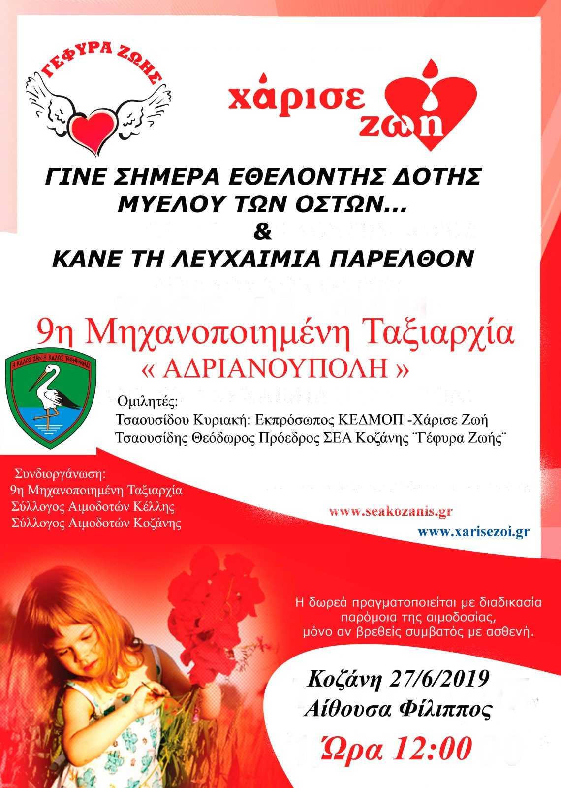 Εθελοντές Αιμοδότες Κοζάνης