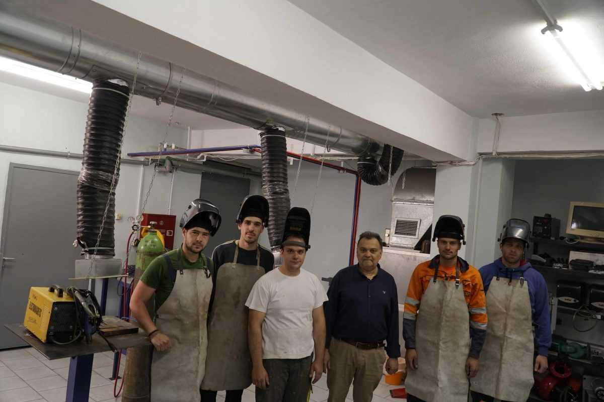Ιδιωτικό ΙΕΚ VΟLTEROS: Εκπαίδευση και Πιστοποίηση Τεχνικού Συγκολλήσεων και Κοπής Μετάλλου, η πρώτηΙδιωτική Σχολή Τεχνικών Επαγγελμάτων για την Δυτική Μακεδονία.