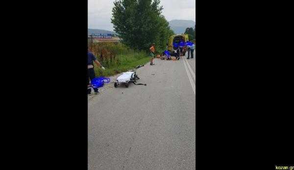 Τραγωδία στην Πτολεμαΐδα Οδηγός ΙΧ παρέσυρε και σκότωσε 2 ποδηλάτες