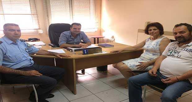 Επίσκεψη υπ. Βουλευτή ΝΔ Παρασκευής Βρυζίδου στο αστυνομικό μέγαρο Εορδαίας