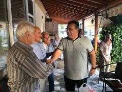 Επισκέψεις του υποψηφίου βουλευτή Νέας Δημοκρατίας Χρόνη Ακριτίδη σε χωριά της Εορδαίας
