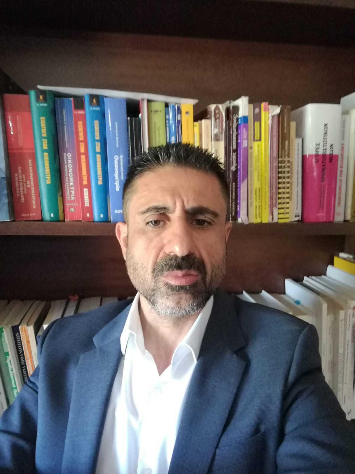 Δήλωση Υποψηφιότητας του Νίκου Σαριαννίδη για τη θέση του Αντιπρύτανη του πανεπιστημίου Δυτικής Μακεδονίας