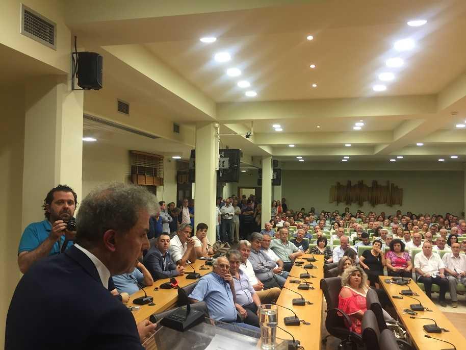 Μία σειρά εξειδικευμένων προτάσεων που θα οδηγήσουν την περιοχή σε μία νέα αναπτυξιακή πορεία καθώς και βασικά σημεία του προγράμματος της Ν.Δ. παρουσίασε ο υποψήφιος βουλευτής του Ν. Κοζάνης Γιώργος Αμανατίδης στο κατάμεστο από κόσμο «Κοβεντάρειο» στην Κοζάνη.