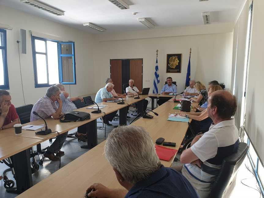 4η συνεδρίαση της «Επιτροπής Κατανομής Περιουσίας του καταργούμενου  Δήμου Σερβίων-Βελβεντού»