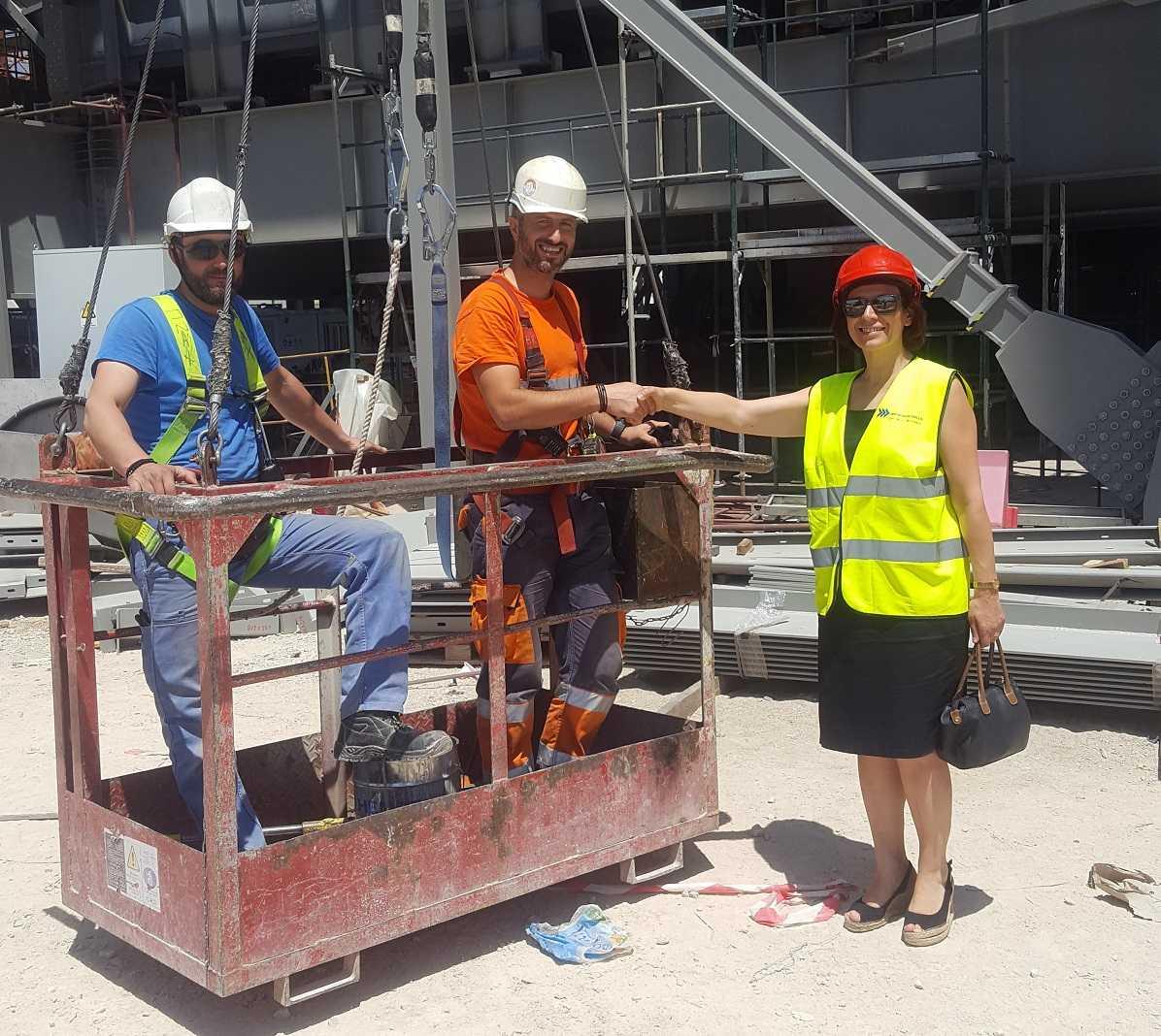 Τα Ορυχεία του Λιγνιτικού Κέντρου, τον ΑΗΣ Καρδιάς, Υδροηλεκτρικό Σταθμό Ιλαρίωνα και την υπό κατασκευή Μονάδα 5 επισκέφτηκε η υποψήφια Βουλευτής της ΝΔ Παρασκευή Βρυζίδου.