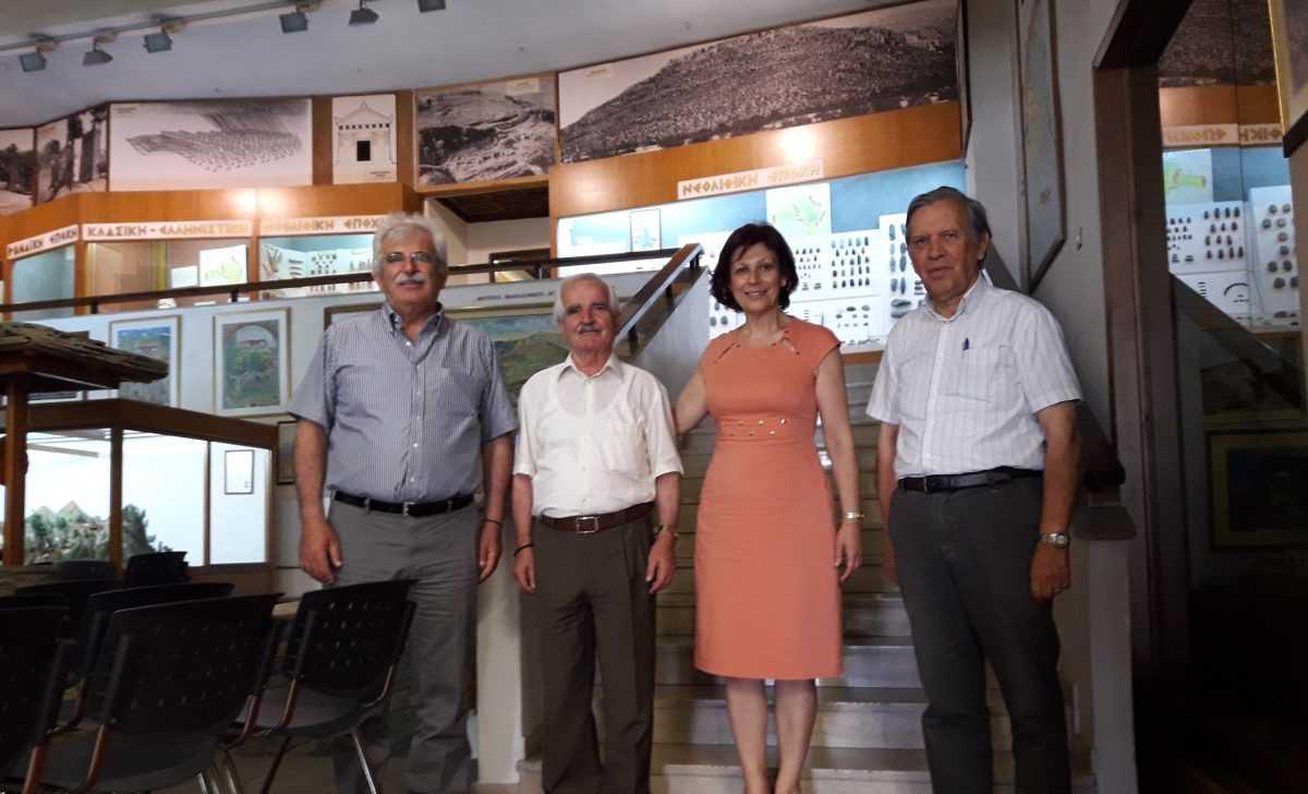 Στο Ιστορικό, Λαογραφικό και Φυσικής Ιστορίας Μουσείο Κοζάνης βρέθηκε η υποψήφια Βουλευτής της ΝΔ Παρασκευή Βρυζίδου.