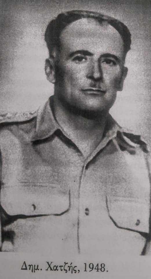 Δημήτριος Χατζής. Ο αξιωματικος από την Γαλατινή, στον οποίο παραδόθηκε η Κορυτσά στις 22 Νοεμβρίου 1940.