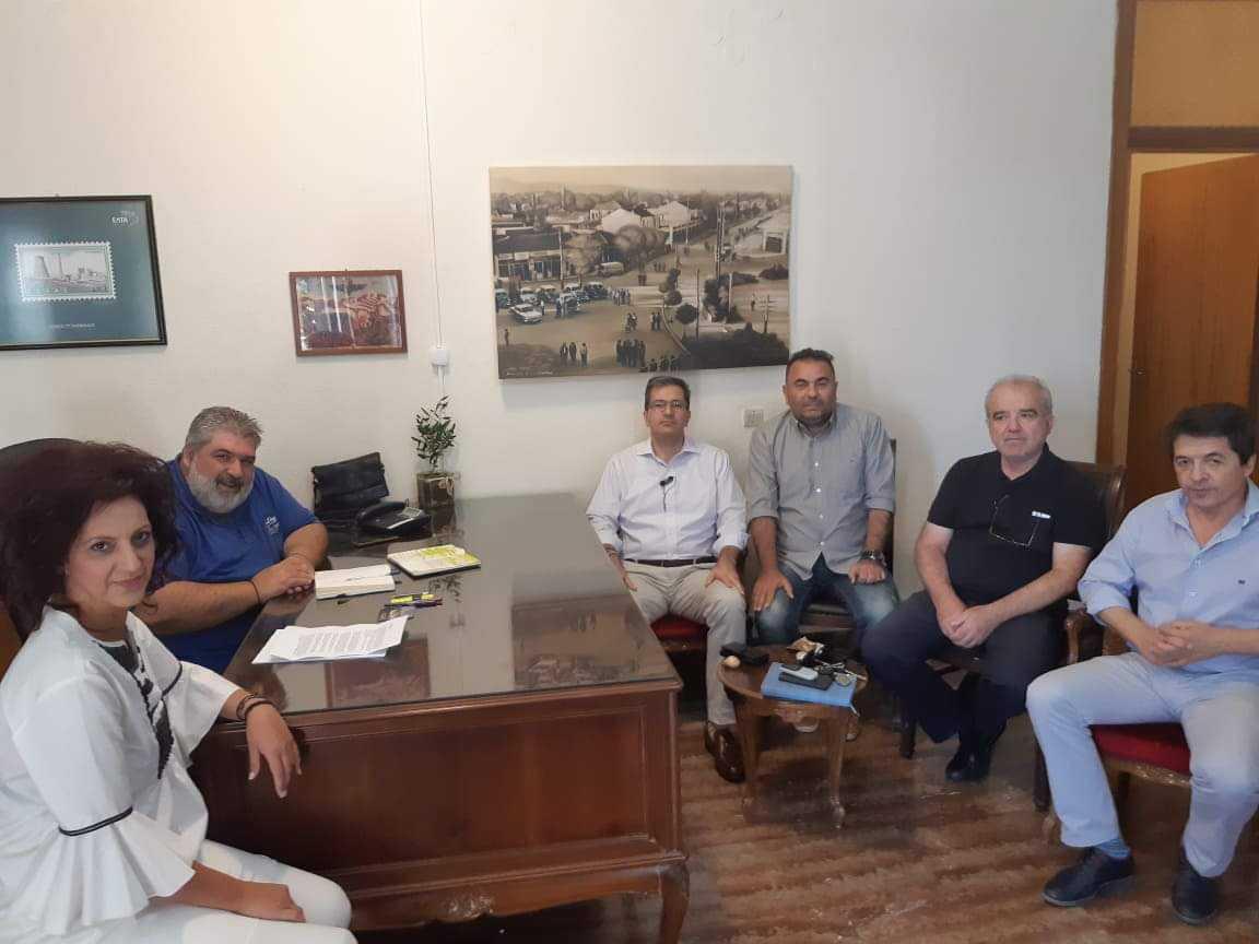 Συνάντηση Δημάρχου Εορδαίας Παναγιώτη Πλακεντά με τον Πρύτανη του Πανεπιστημίου Δυτικής Μακεδονίας.