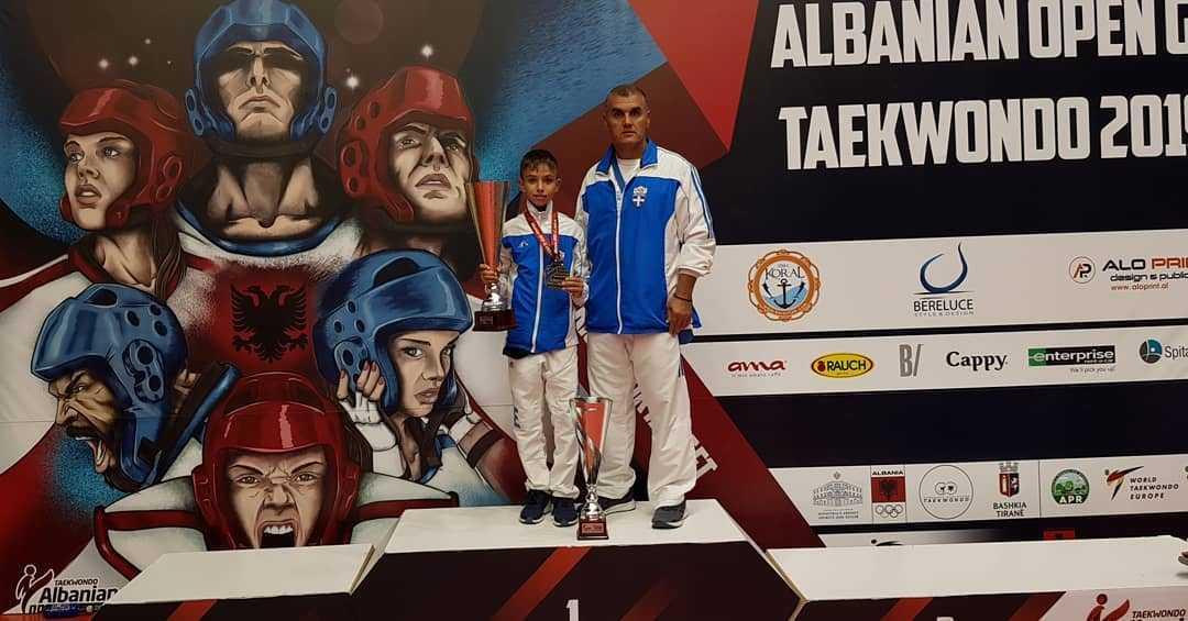 Οκτώ μετάλλια για τους αθλητές της Μακεδονικής Δύναμης Κοζάνης στο G1 Open της Αλβανίας 2019.