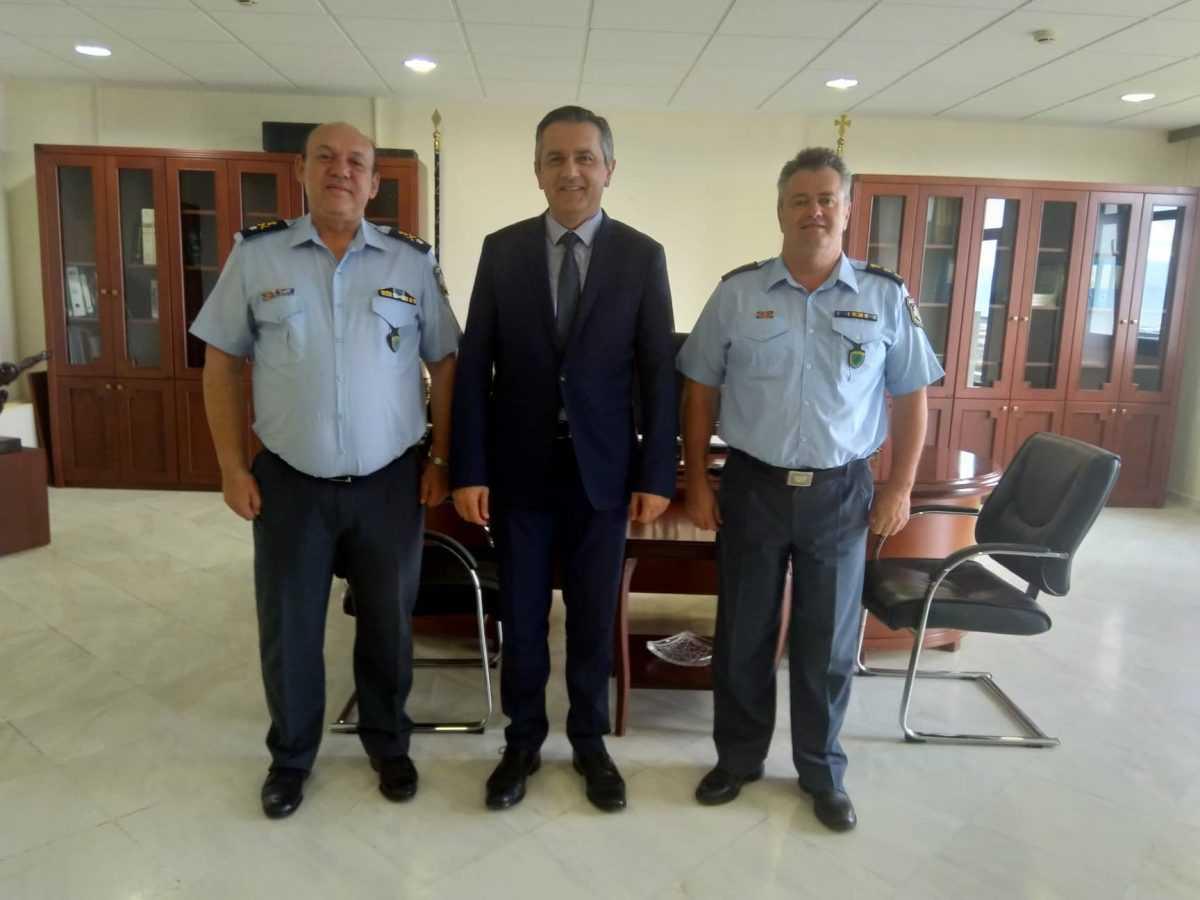 Επίσκεψη του Γενικού Περιφερειακού Αστυνομικού Διευθυντή Δυτικής Μακεδονίας στον Περιφερειάρχη Δυτικής Μακεδονίας.