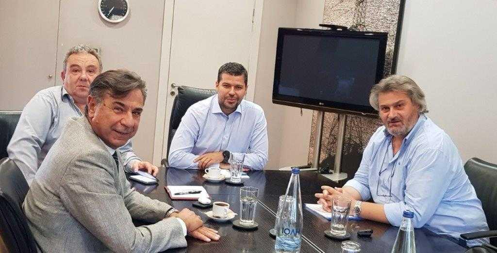 Συνάντηση ΣΠΑΡΤΑΚΟΥ με τον νέο Πρόεδρο της Επιχείρησης    Ενημέρωση και συζήτηση για τα θέματα της ΔΕΗ