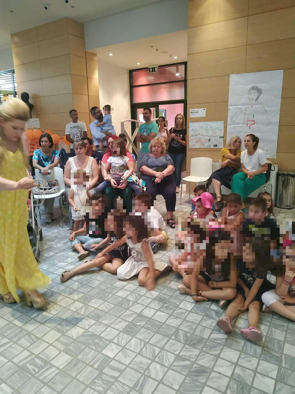 """Με επιτυχία ολοκληρώθηκε το """"Ταξίδι στο κέντρο της Βιβλιοθήκης""""     Στις 63 δράσεις πήραν μέρος 298 παιδιά!"""