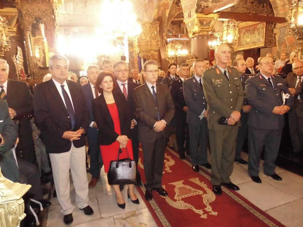 Εορτασμός του Προστάτη του Σώματος, Μεγαλομάρτυρα Αγίου Αρτεμίου και της «Ημέρας της Αστυνομίας»
