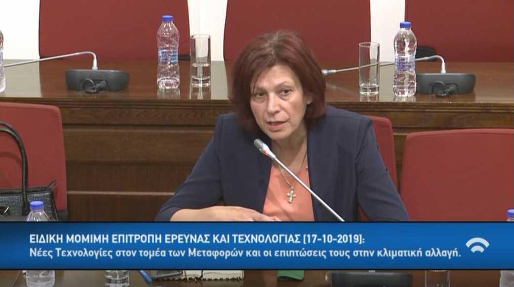 Τοποθέτηση της Παρασκευής Βρυζίδου Βουλευτή Ν. Κοζάνης της Νέας Δημοκρατίας για τη δυνατότητα μείωσης της ανεργίας, μέσα από την υλοποίηση νέων Επενδύσεων