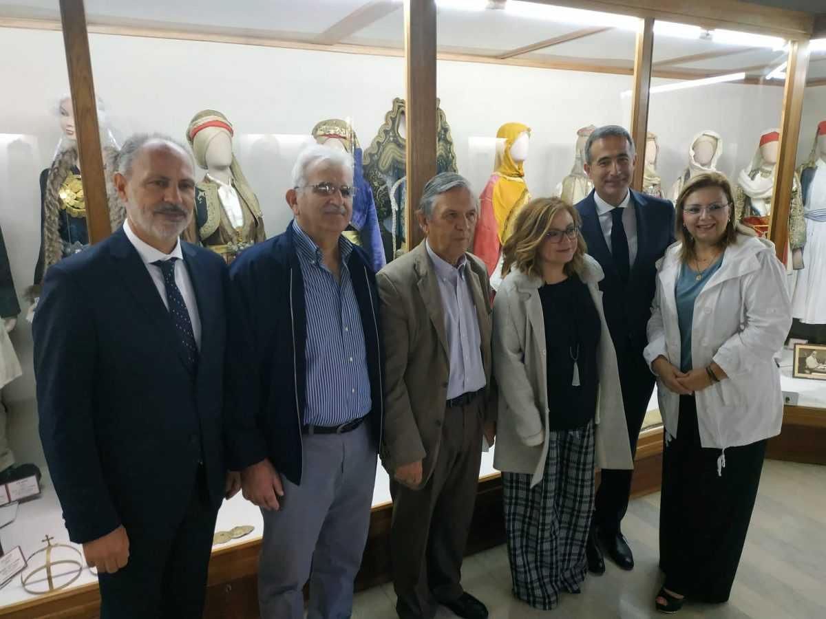 Επίσκεψη κ. Μαρίας Σπυράκη, Ευρωβουλευτή, στο Ιστορικό, Λαογραφικό και Φυσικής Ιστορίας Μουσείο Κοζάνης.