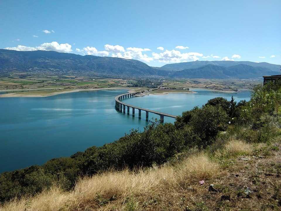 Σε αρκετά χαμηλά επίπεδα η στάθμη της λίμνης Πολυφύτου (280,00).