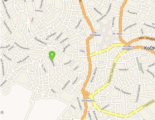 Αλλαγή κυκλοφορίας σε οδούς της Κοζάνης λόγω εργασιών της ΔΕΥΑΚ