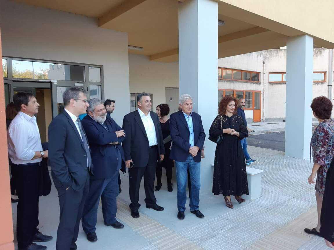Επίσκεψη του Δημάρχου Εορδαίας στους χώρους του Μποδοσάκειου Νοσοκομείου που θα παραχωρηθούν στην Σχολή Επιστημών Υγείας του Πανεπιστημίου Δυτικής Μακεδονίας.