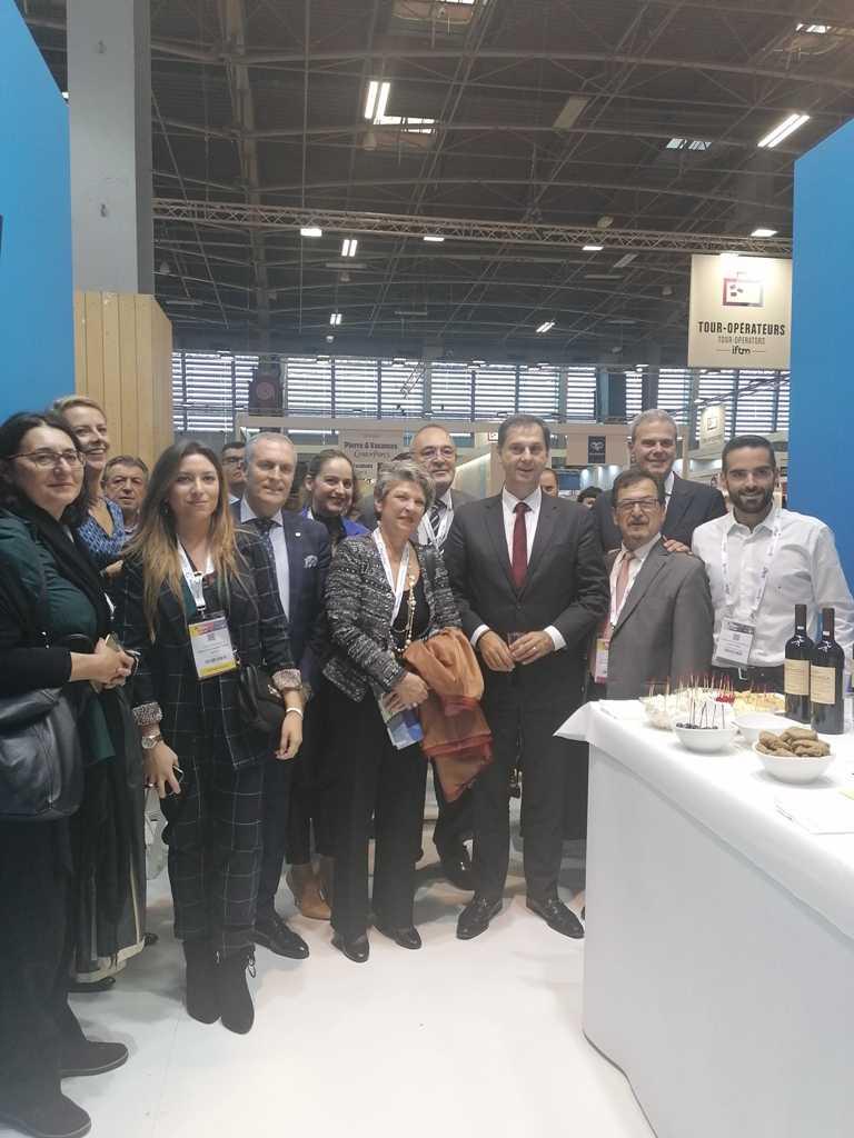 Η Περιφέρεια Δυτικής Μακεδονίας συμμετείχε για πρώτη φορά στη διεθνή επαγγελματική έκθεση Τουρισμού International French Travel Market (I.F.T.M.)-TOP RESA από 1 έως 4 Οκτωβρίου 2019 στο Παρίσι
