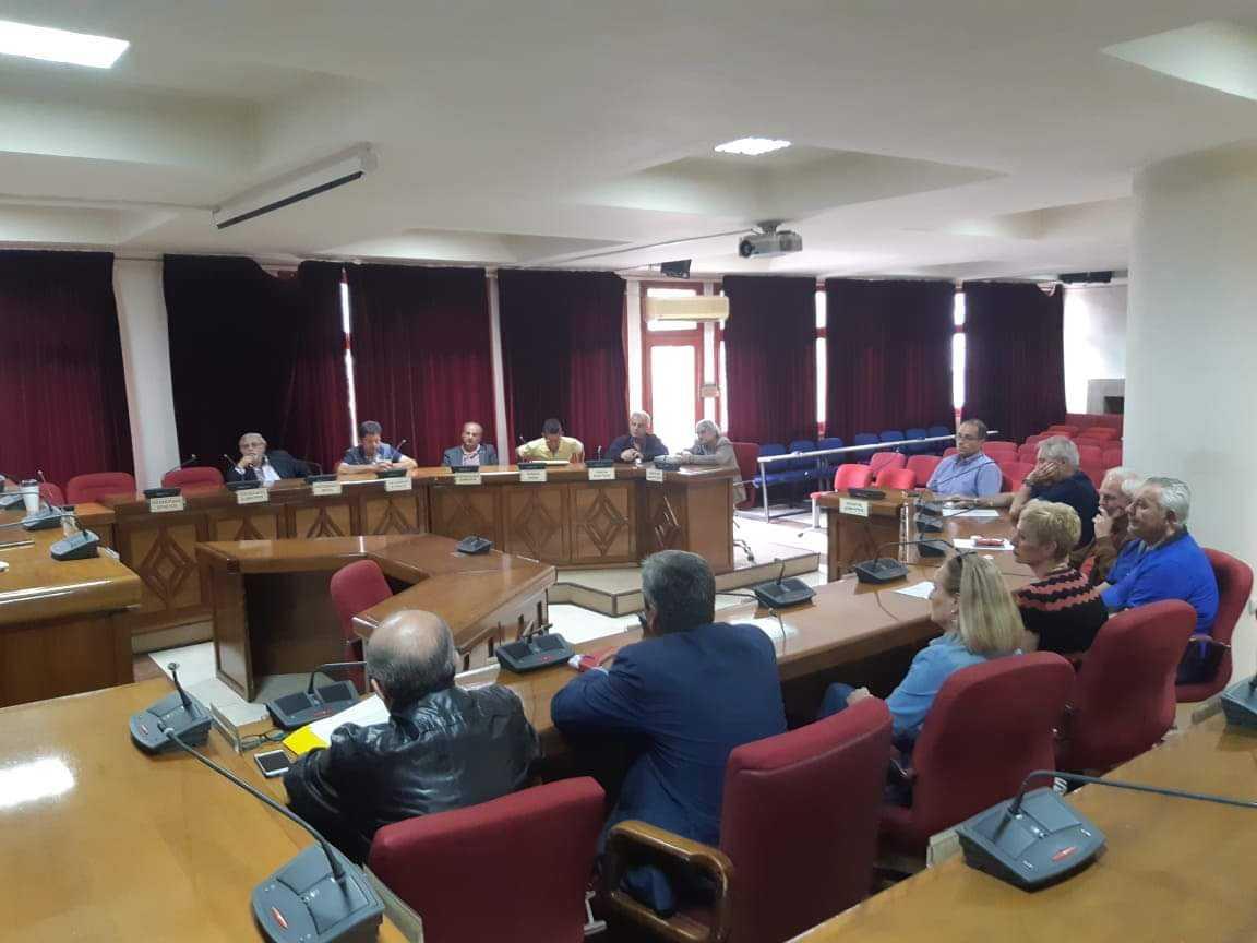 Σύσκεψη για τα ζητήματα που απασχολούν τις σχολικές μονάδες δευτεροβάθμιας εκπαίδευσης του Δήμου Εορδαίας.