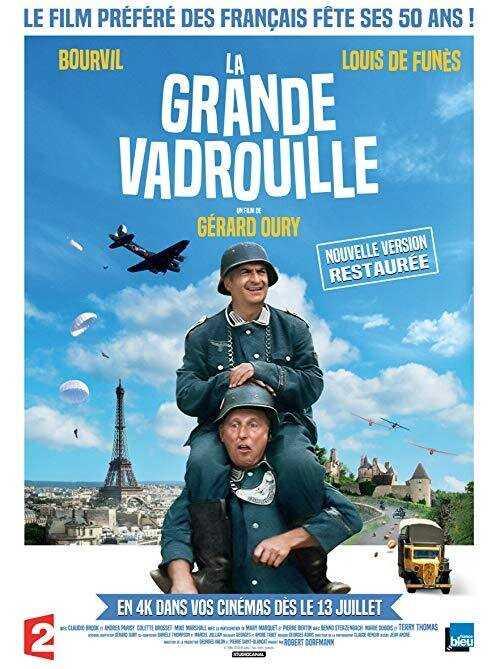 Με τη σπαρταριστή αντιστασιακή κωμωδία του Gérard Oury, «Ασύλληπτη Απόδραση» La Grande Vadrouille (1966), ξεκινά τη χειμερινή περίοδο των προβολών του ο Φιλοπρόοδος Σύλλογος Κοζάνης