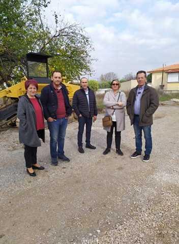 Καταγραφή προβλημάτων ανά Τοπική Κοινότητα από τους  Αντιδημάρχους Δημοτικών Ενοτήτων, Γιώργος Δουγαλής και Τοπικής Ανάπτυξης και Επιχειρηματικότητας, Κώστας Κυριακίδης