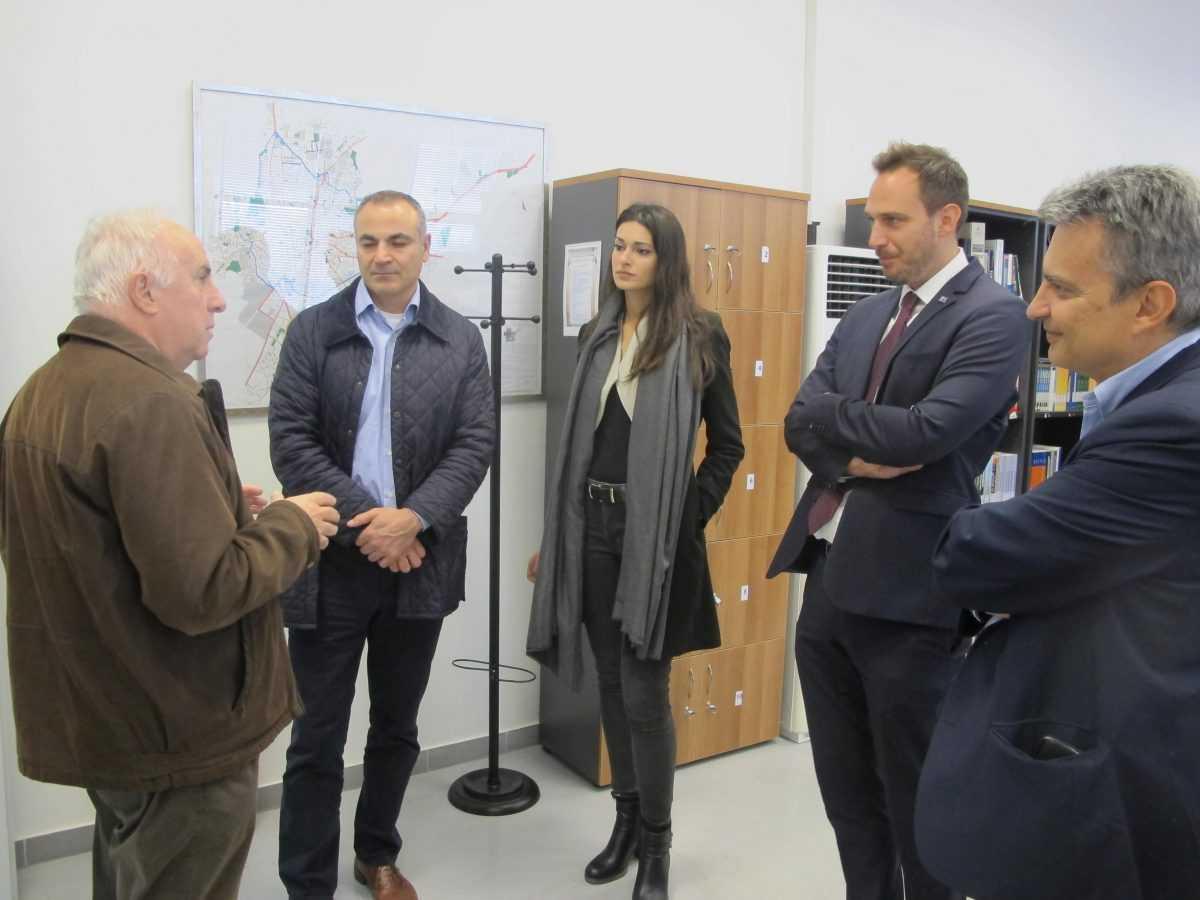 Επίσκεψη Εκπροσώπων του Ελληνογερμανικού  Επιμελητηρίου στη Θεσσαλονίκη στις εγκαταστάσεις του Τμήματος Ηλεκτρολόγων Μηχανικών και Μηχανικών Υπολογιστών, της Πολυτεχνικής Σχολής του Πανεπιστήμιου Δυτικής Μακεδονίας.