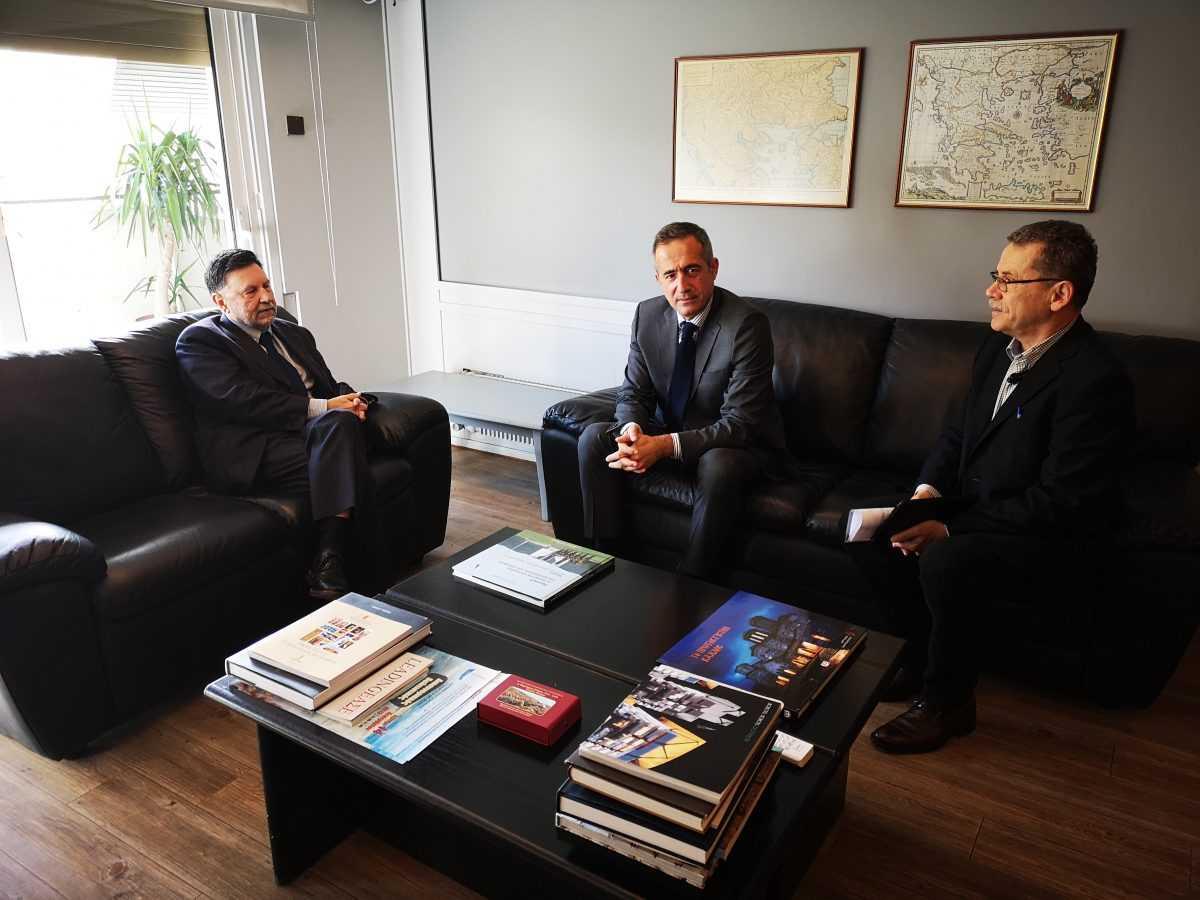 Συναντήσεις Κωνσταντινίδη - Μαλούτα  στο Υπουργείο Περιβάλλοντος & Ενέργειας  για θέματα του Δήμου Κοζάνης