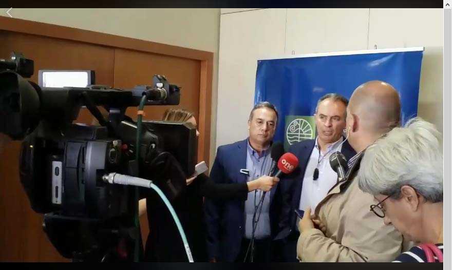 Δηλώσεις Γ. Αδαμίδη - προέδρου της ΓΕΝΟΠ ΔΕΗ - μετά τη συνάντησή του με τον υπουργό Περιβάλλοντος & Ενέργειας