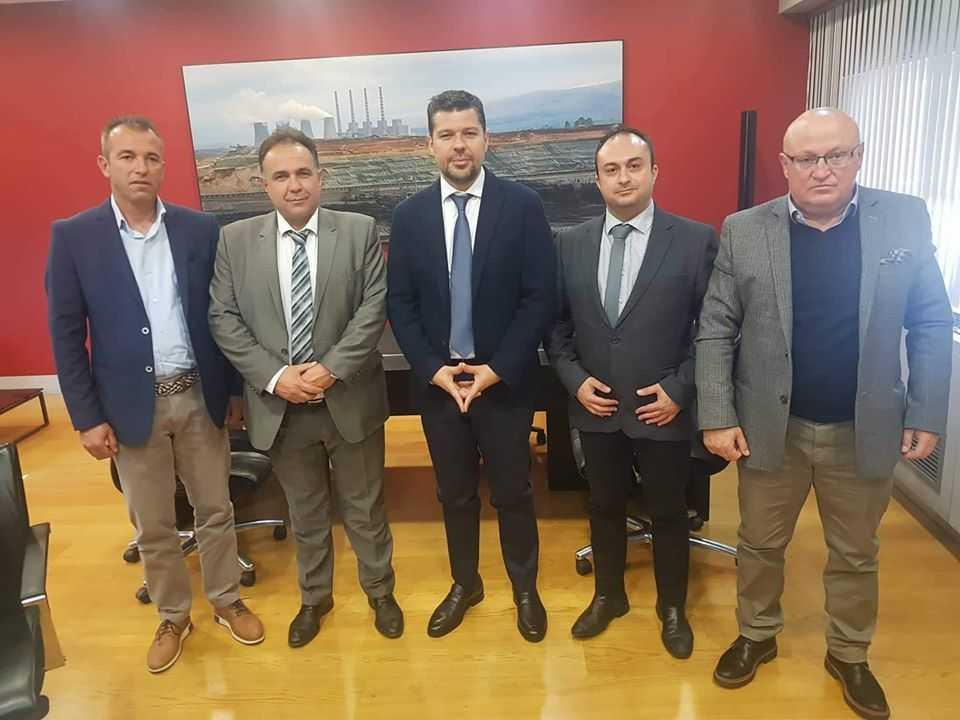 Συνάντηση της διοίκησης του Επιμελητηρίου Κοζάνης με τον πρόεδρο της ΔΕΗ