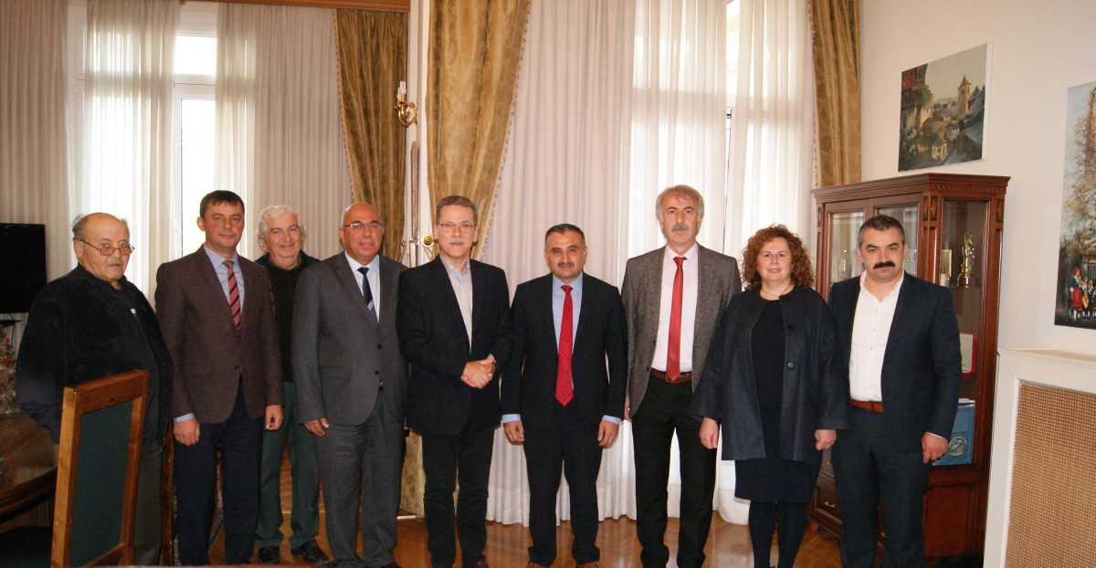 Επίσκεψη του Τούρκου Δημάρχου Ντεβελί στο Δήμαρχο Κοζάνης