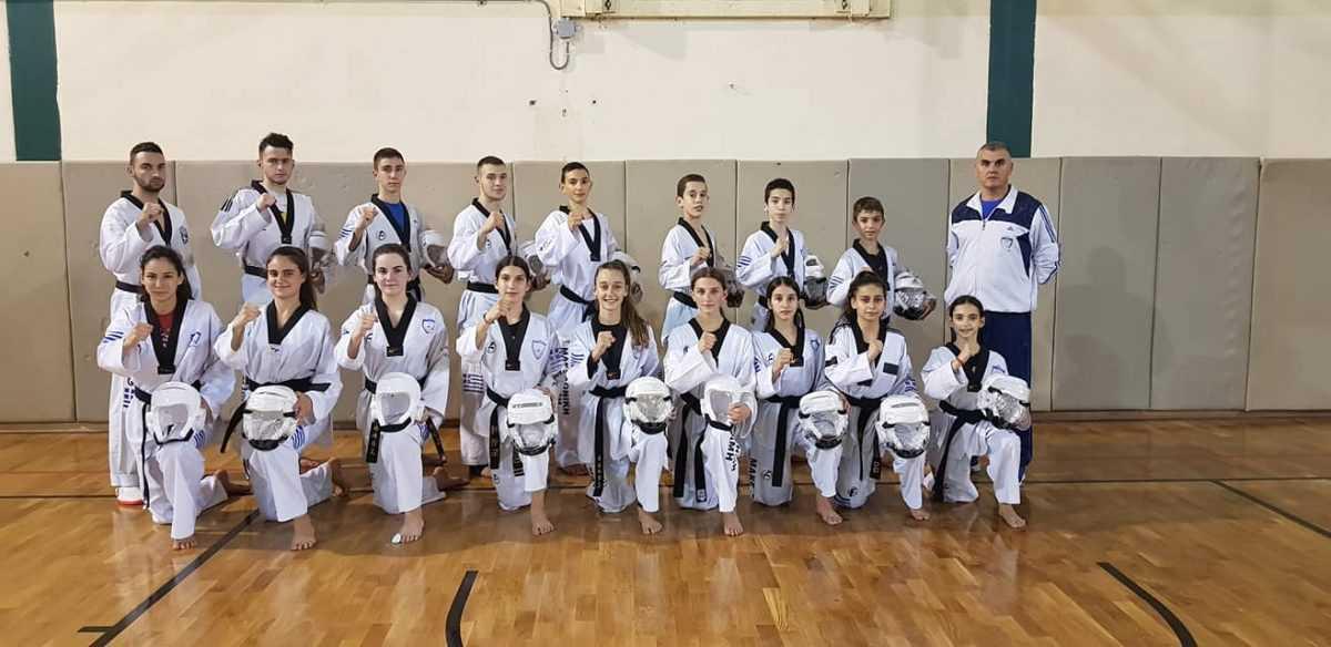 Στο Πανελλήνιο Πρωτάθλημα taekwondo η Μακεδονική Δύναμη Κοζάνης με 17 αθλητές