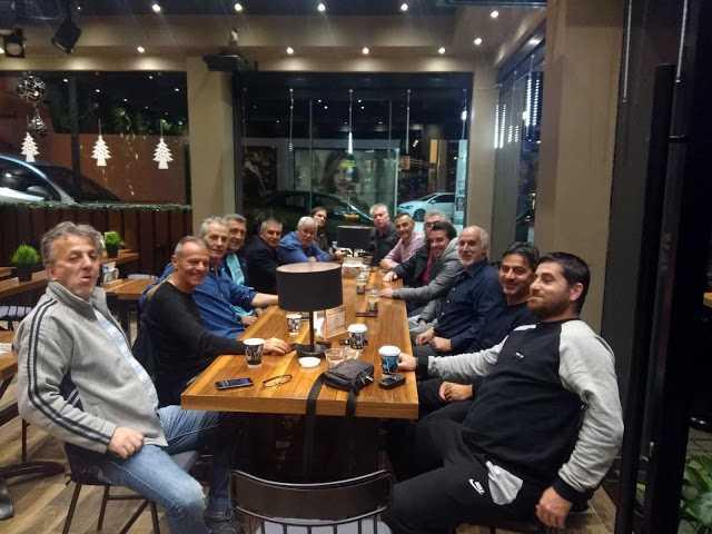 Το νέο ΔΣ των Βετεράνων Ποδοσφαιριστών Κοζάνης