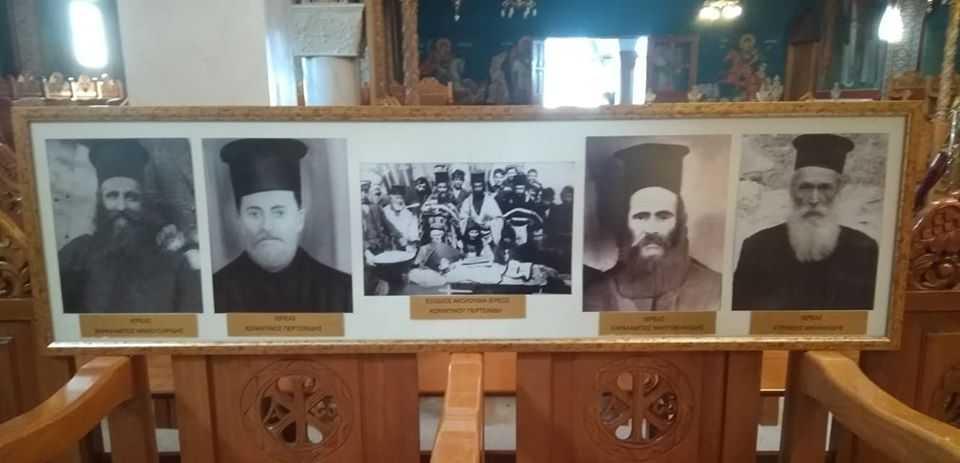 Μνημόσυνο στο Μαυροδένδρι για τους ιερείς που ήρθαν από τις αλησμόνητες πατρίδες και εγκαταστάθηκαν στο χωριό.