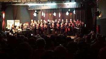Με επιτυχία πραγματοποιήθηκαν οι χριστουγεννιάτικες εκδηλώσεις του Συλλόγου Φίλων Μουσικής «Βελβεντινές Φωνές».