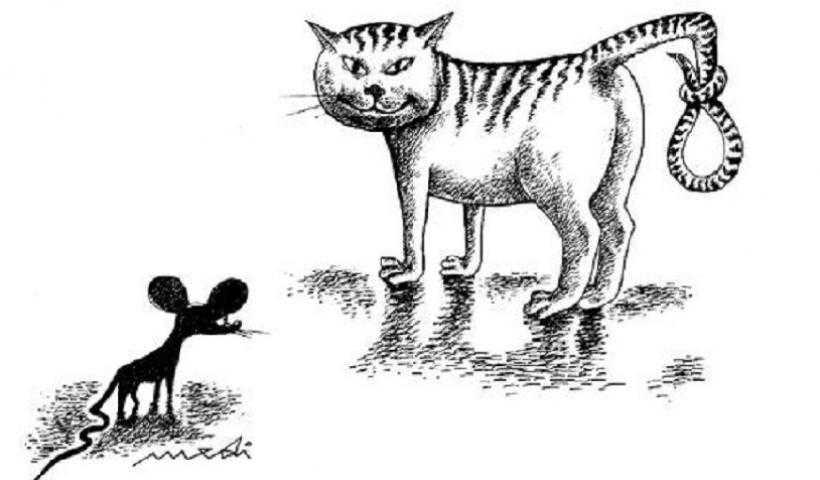 Το παιχνίδι της γάτας με το ποντίκι