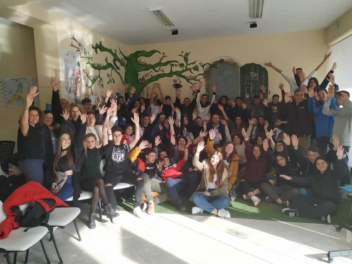 Επίσκεψη του 4ου ΓΕΛ Κοζάνης στο Europe Direct Δυτικής Μακεδονίας