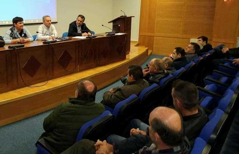 Η πρώτη συνάντηση του Περιφερειάρχη Δυτικής Μακεδονίας Γιώργου Κασαπίδη με εκπροσώπους των Τοπικών Οργανισμών Εγγείων Βελτιώσεων (ΤΟΕΒ)