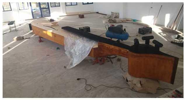 Τέλειωσε η κατασκευή της μεγαλύτερης Ποντιακής λύρας μήκους 6.70 μ. στην Πεντάβρυσο Εορδαίας