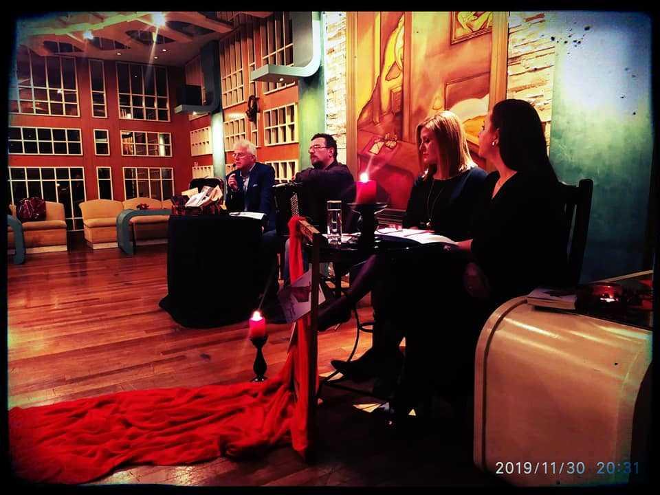 Η παρουσίαση του νέου βιβλίου του Μ. Πιτένη στην Πτολεμαΐδα.