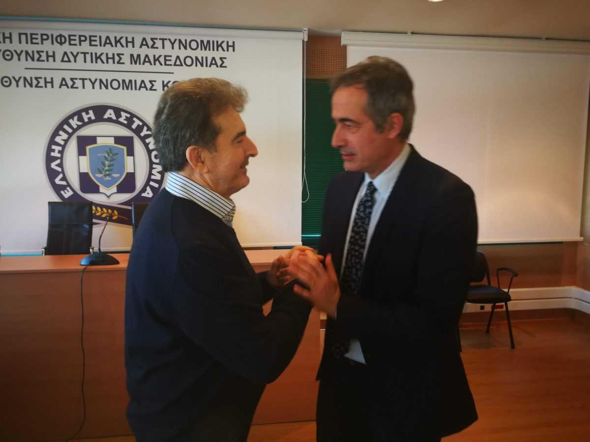 Συνάντηση με τον υπουργό Προστασίας του Πολίτη κ. Μιχάλη Χρυσοχοϊδη στην Κοζάνη είχε σήμερα ο βουλευτής ΝΔ Ν. Κοζάνης κ. Στάθης Κωνσταντινίδης
